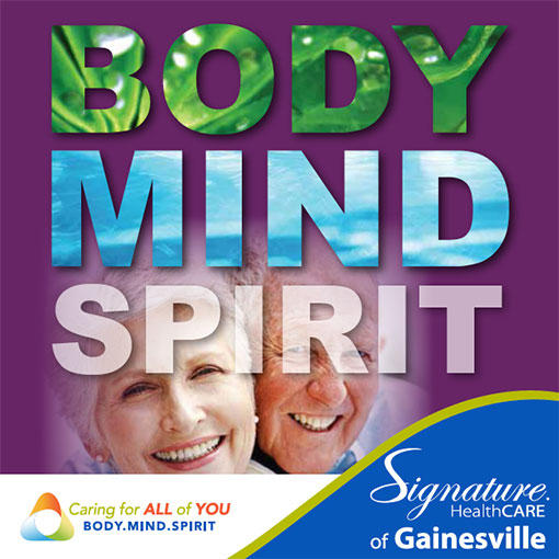 Gainesville Nursing Home Brochure
